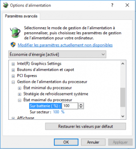 options alimentation