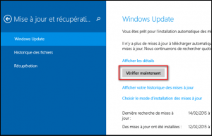 verifier windows update