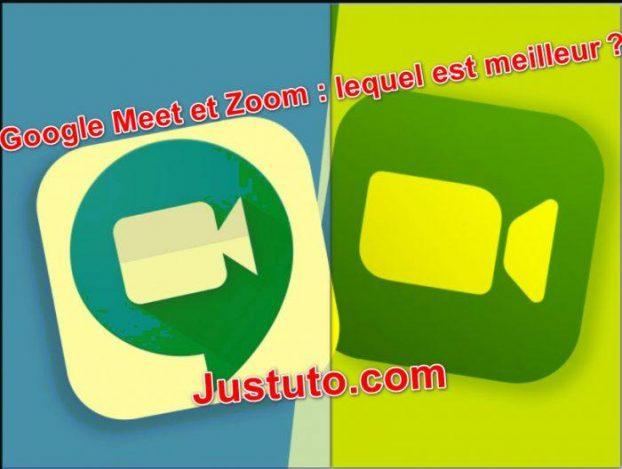 Google Meet vs Zoom2021: Quel est le Meilleur Choix ?